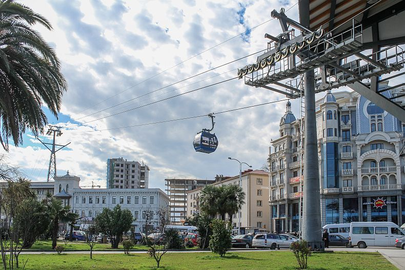 Batumi cable car