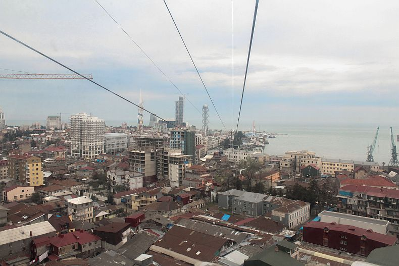 View to the Batumi bay