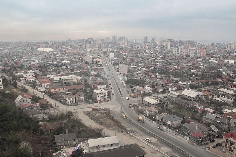 Aerial view of Batumi