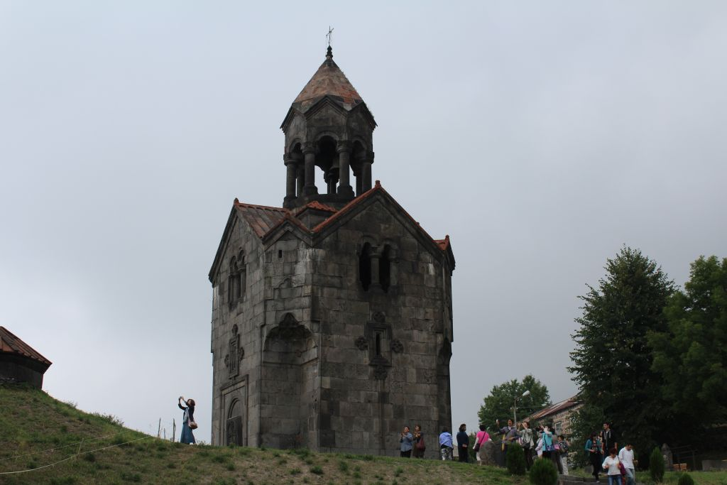 The belltower at Haghpat Monastery