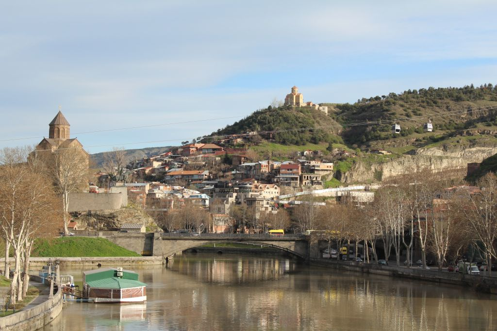 View to Tbilisi Old Town