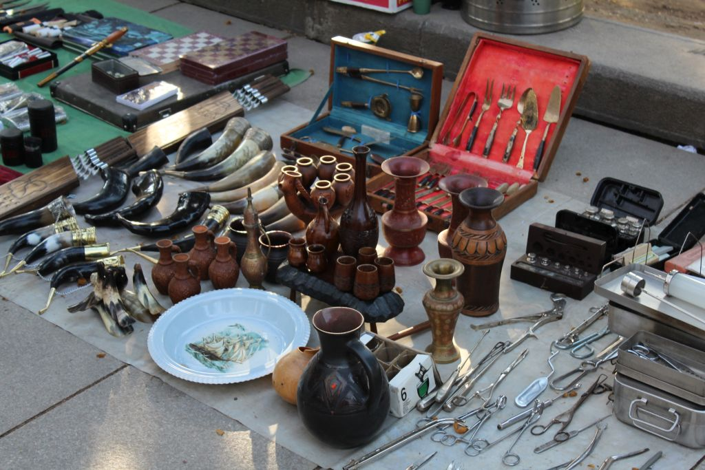 At Flea market