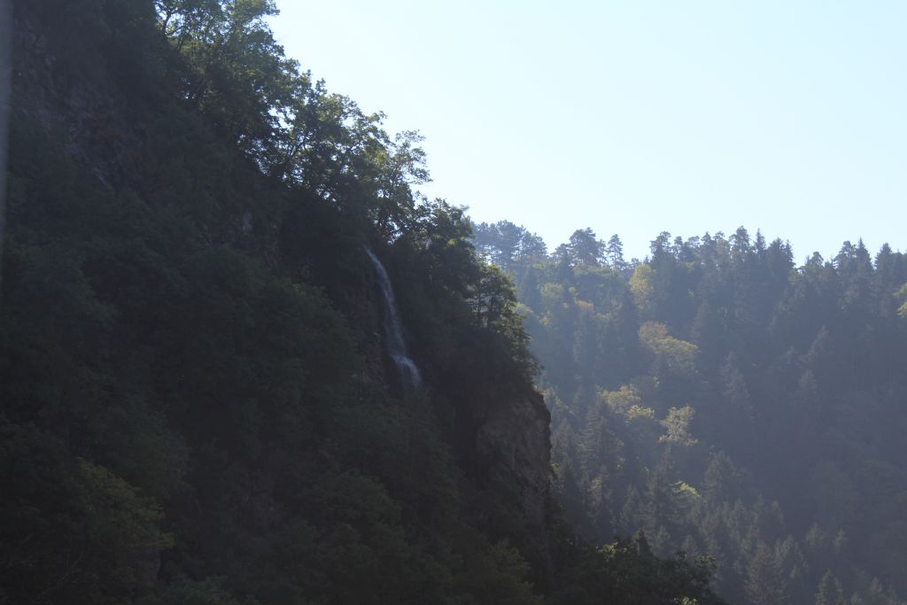 Waterfall in Borjomi gorge