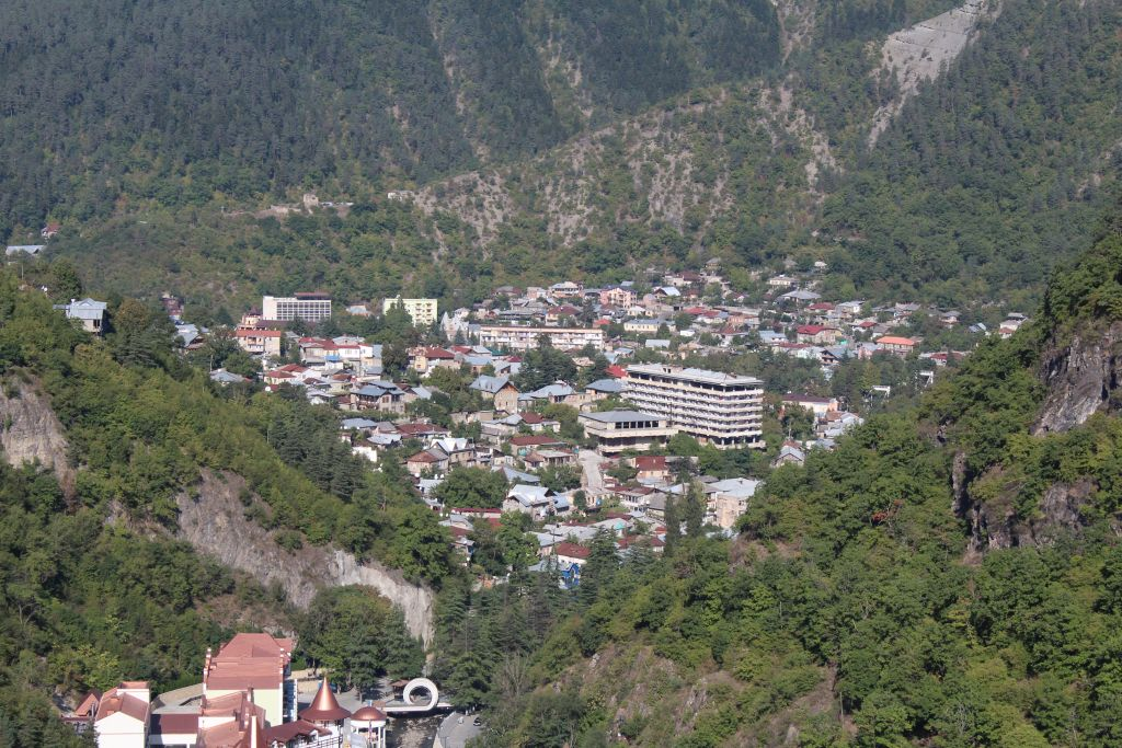 View to Borjomi valley