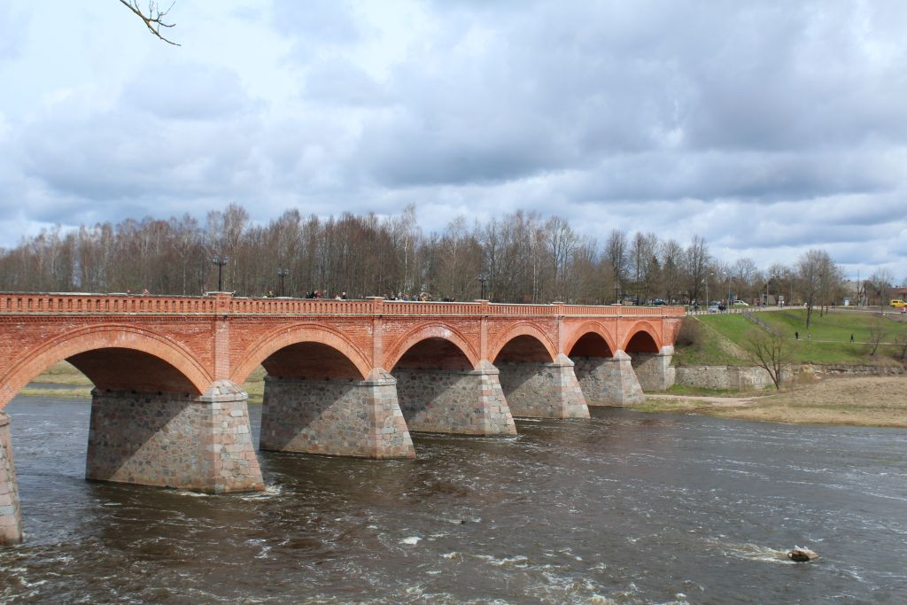 The Brick Bridge in Kuldīga