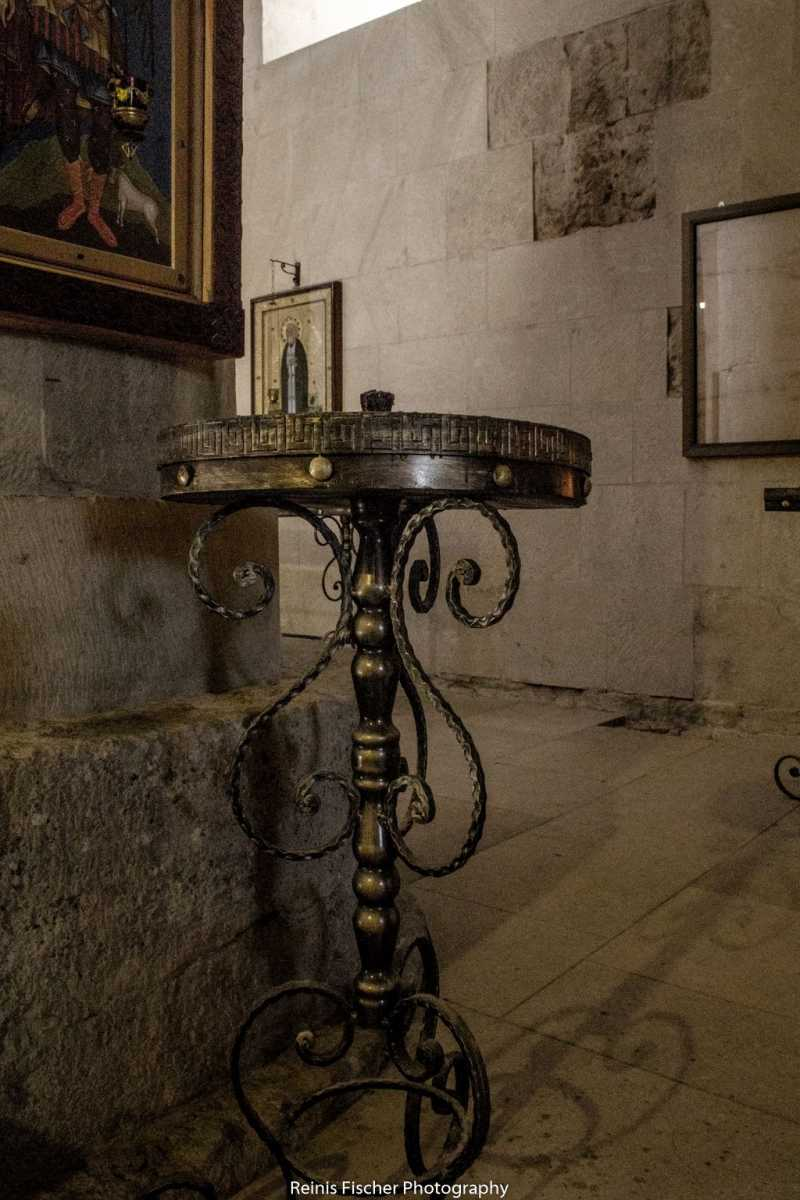 Candlestick inside Bagrati Cathedral