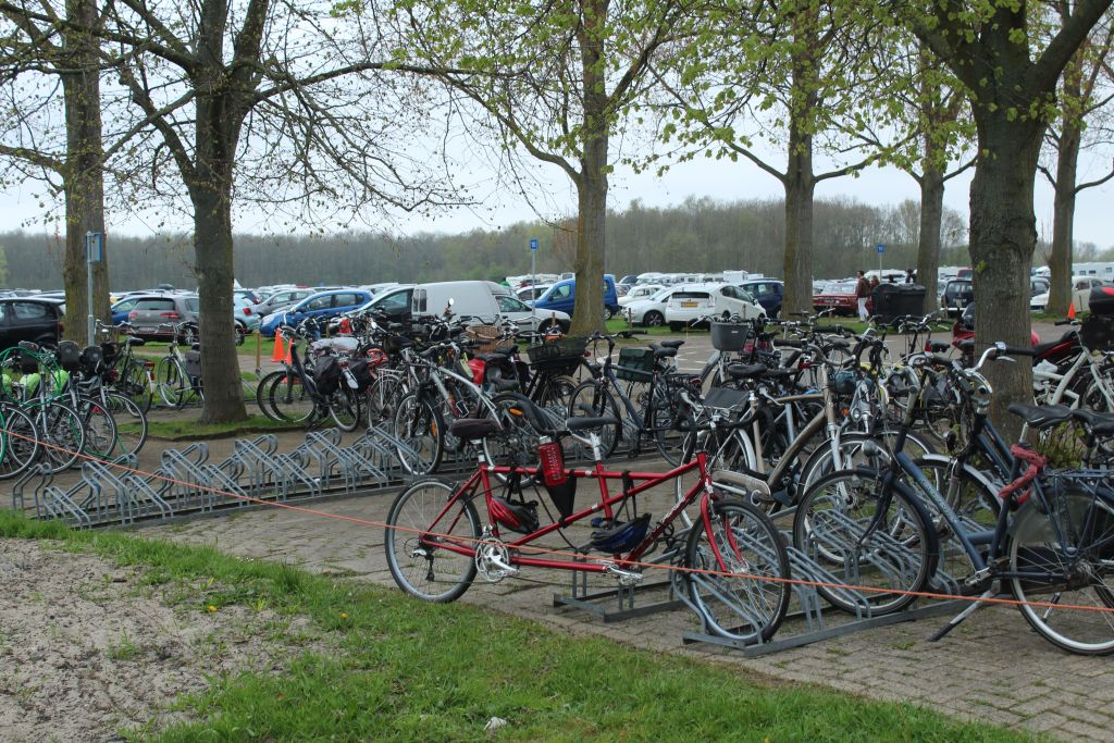 Parking lot at Keukenhof