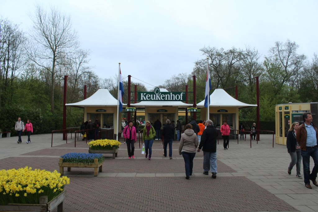 Entrance at Keukenhof