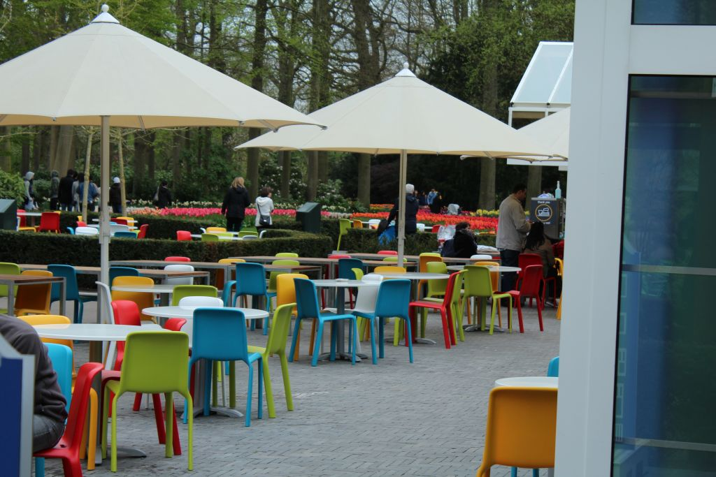 Anther cafeteria at Keukenhof