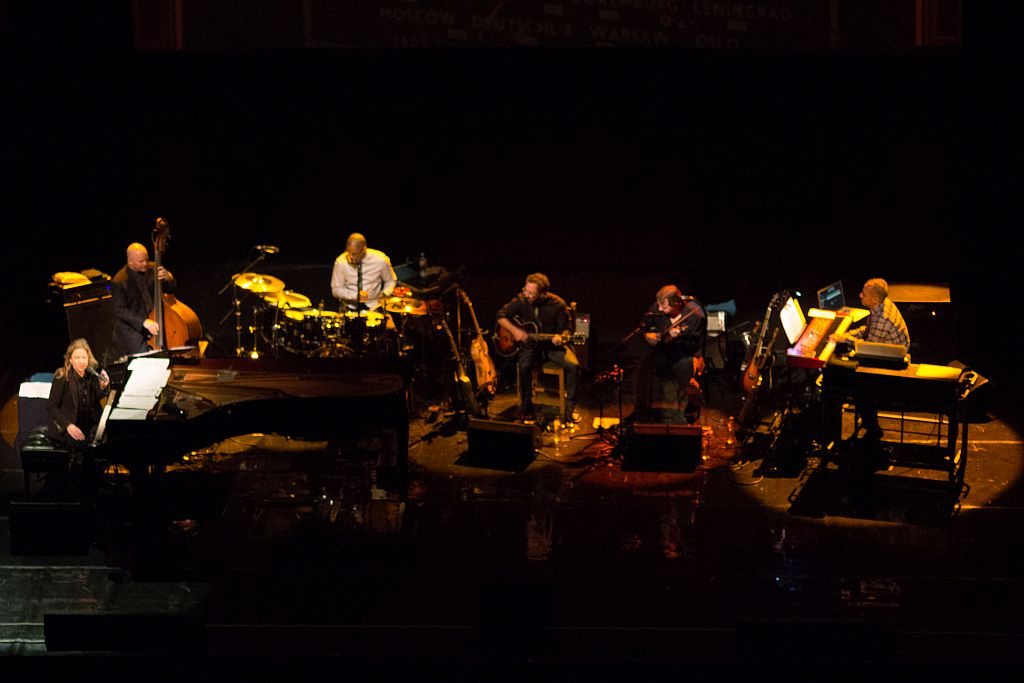 Diana Krall and band performing in Tbilisi, Georgia