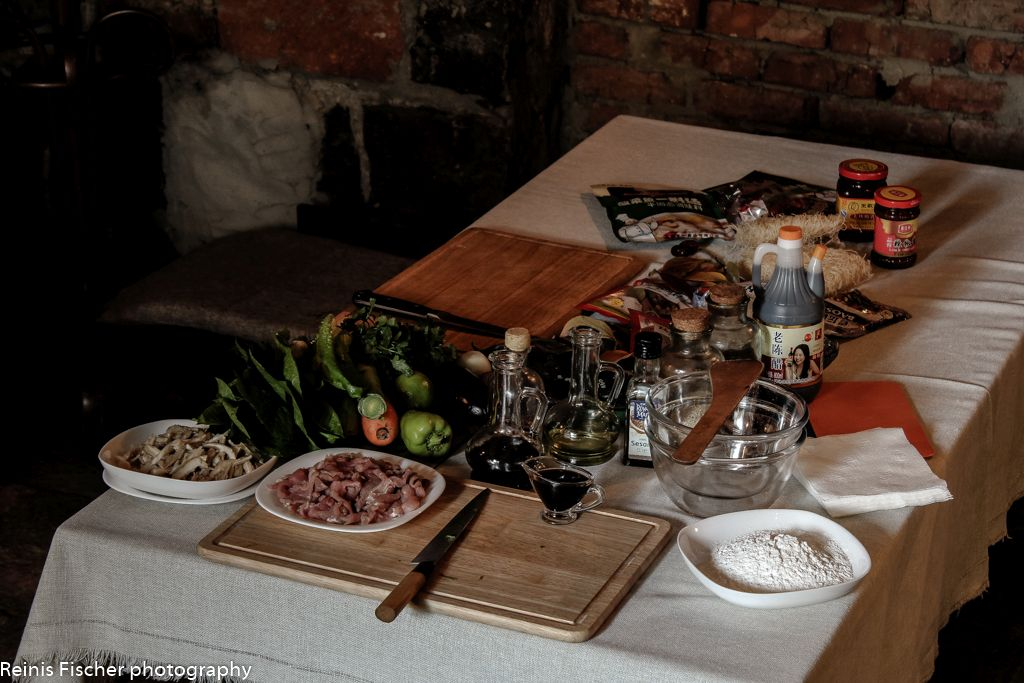 Ingredients for Asian Cuisine masterclass