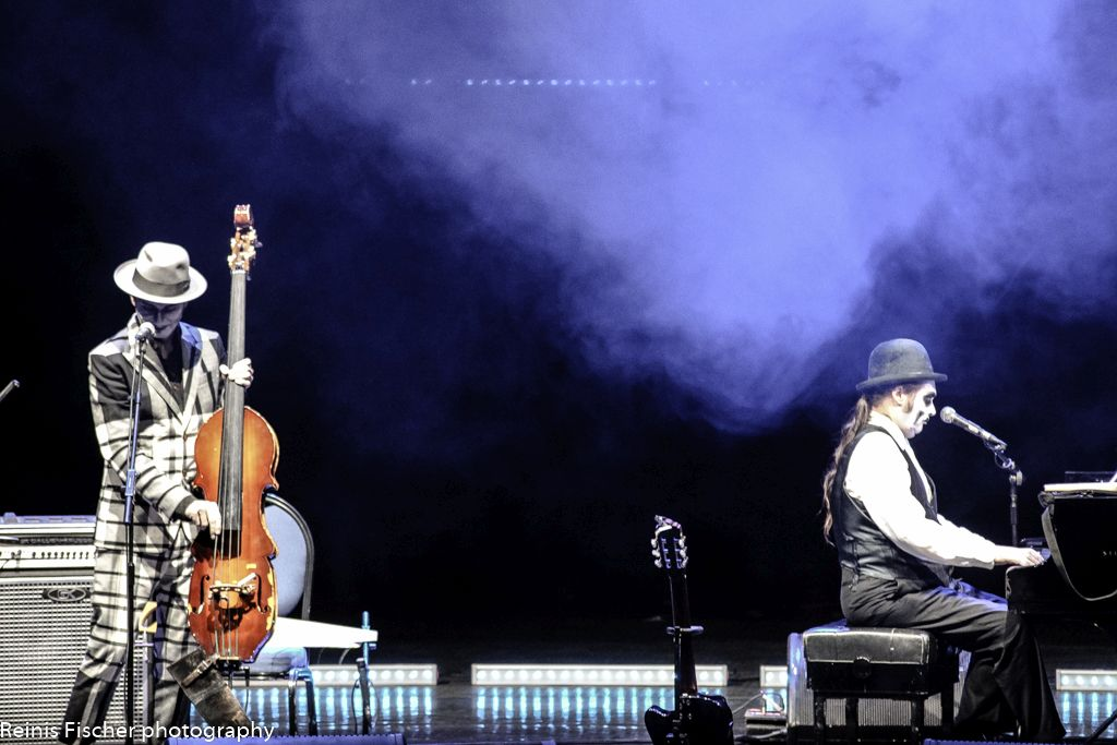 The Tiger Lillies live on Tbilisi stage