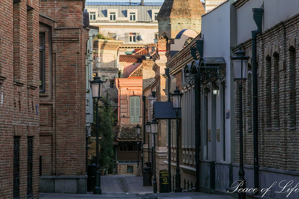 Streets of Tbilisi's Old town