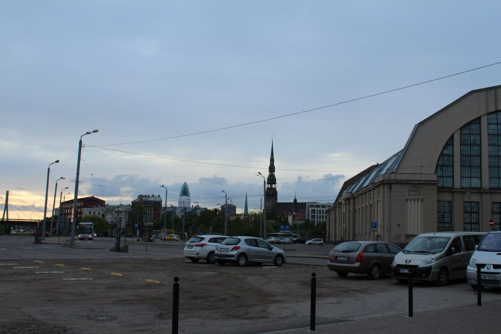 View to Riga Central Market