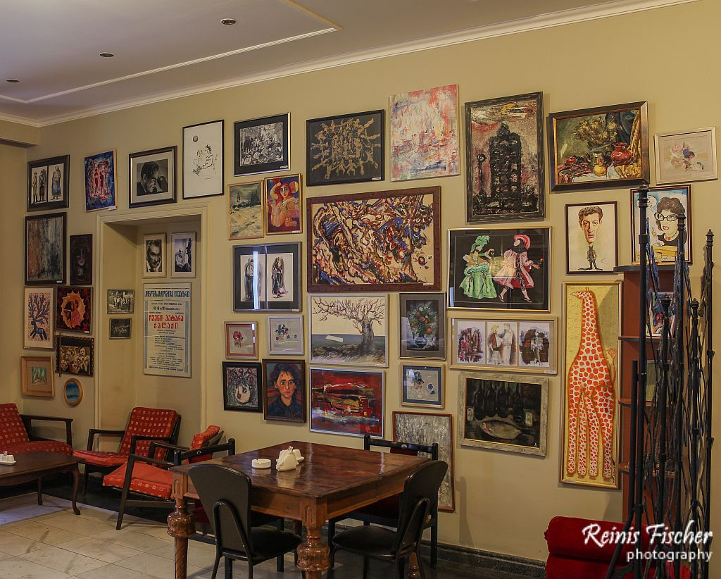 Posters and paintings