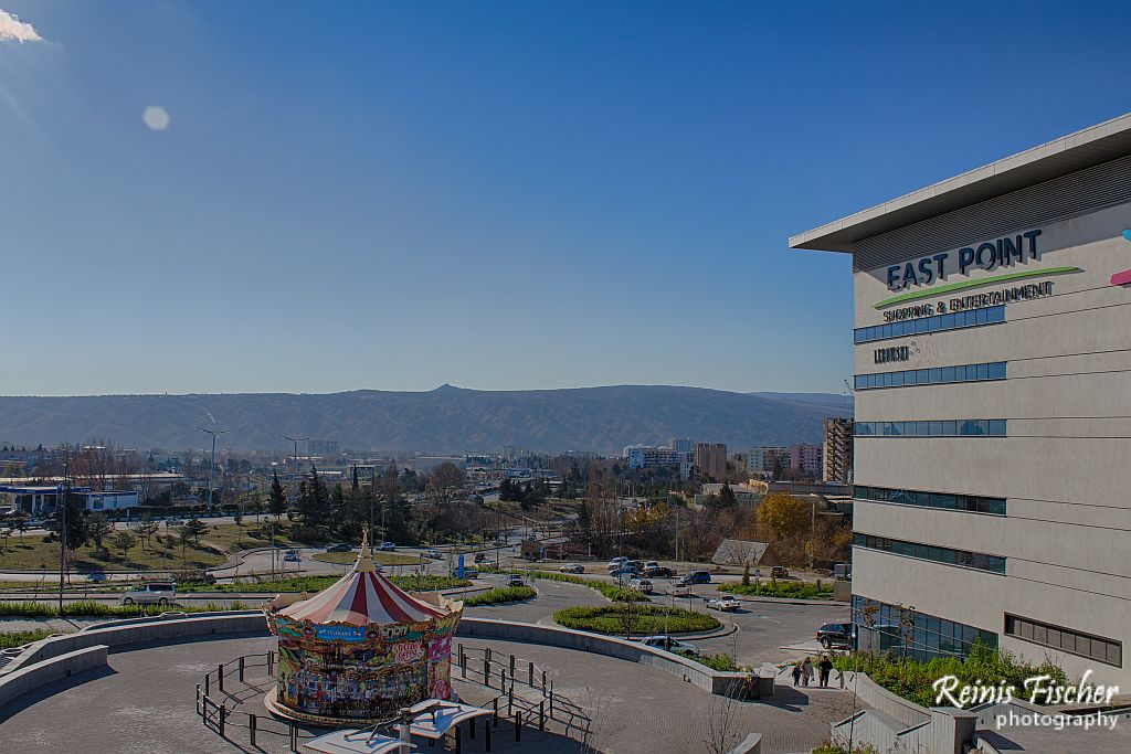 East point shopping mall in Tbilisi