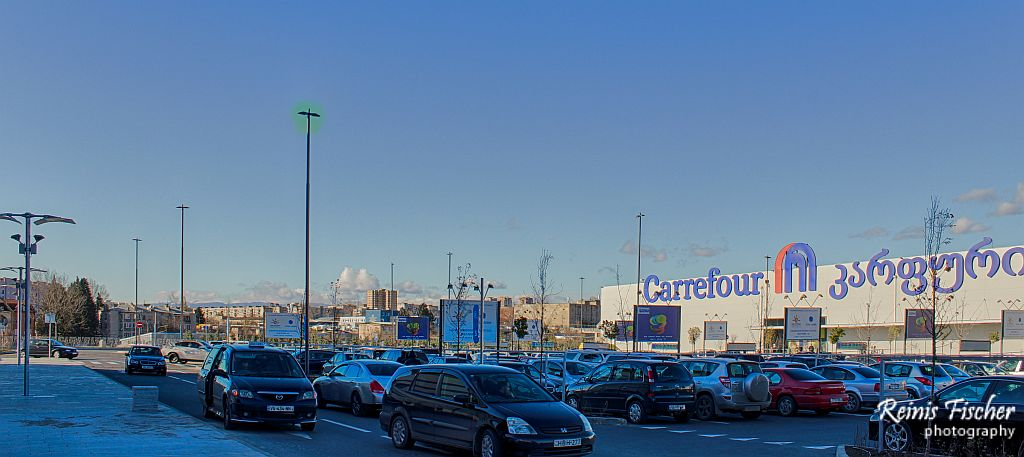 Anchor tenant at East Point - Carefour