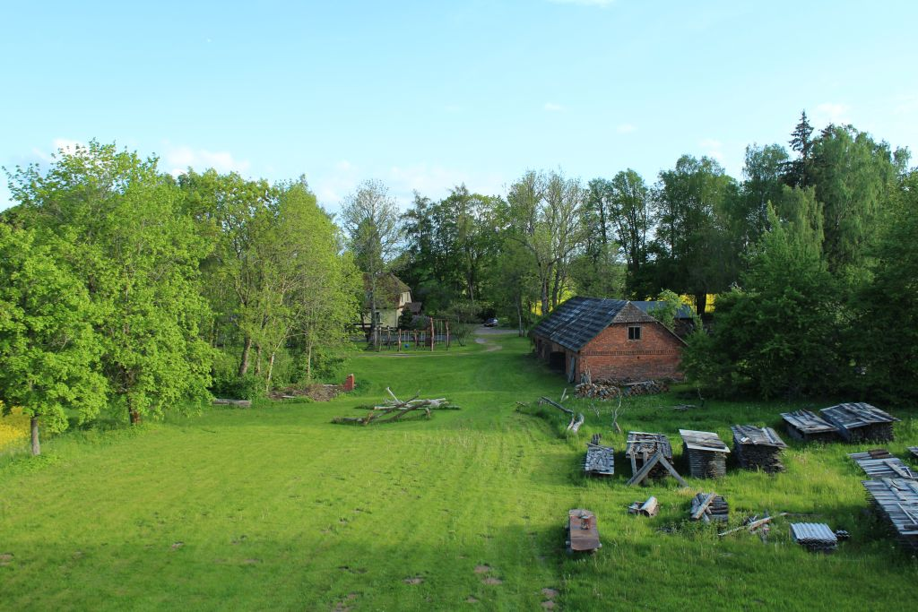 Aerial view of Guest house Garīkas