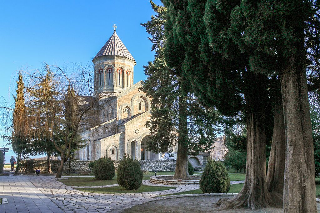 Cathedral at Bodbe monastery