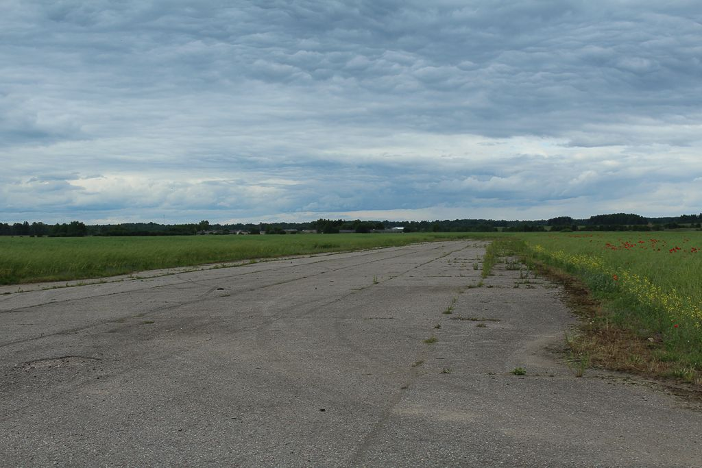 Abandoned airfield near Tukums