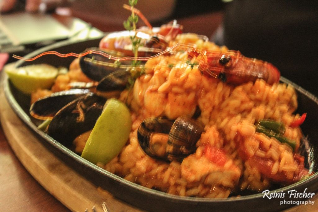 Paella at Klondaika Tex-Mex