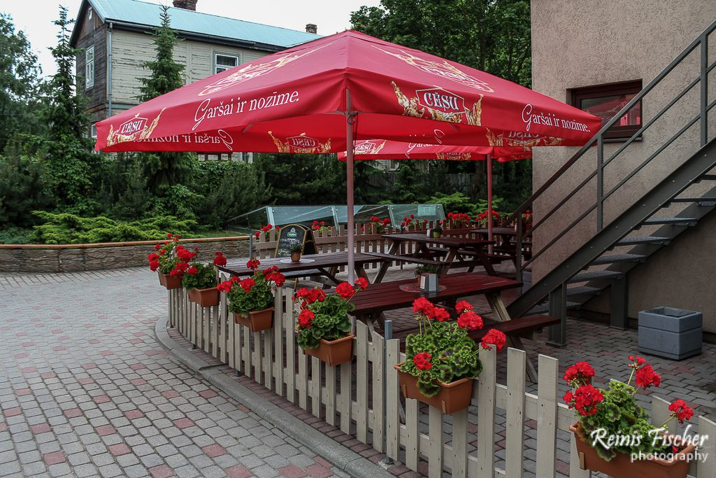 Outdoor Patio at Tex-Mex Liepāja