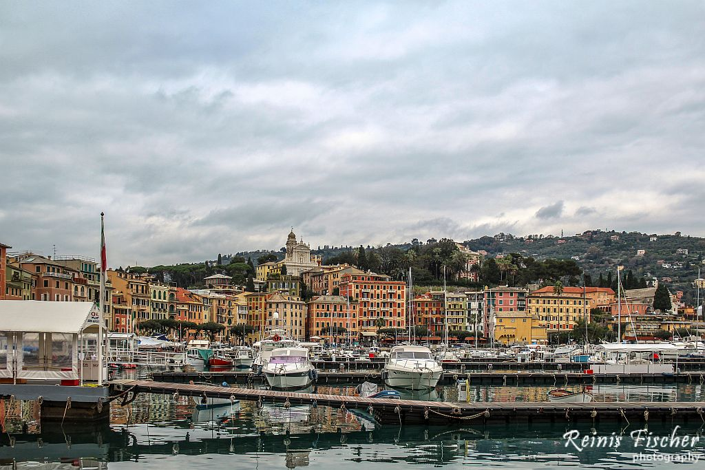 Portofino - Italian fishing village