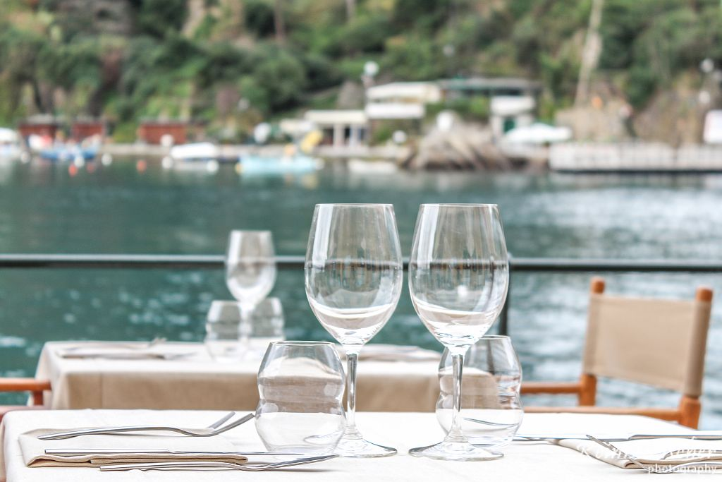 Restaurants located on Portofino promenade