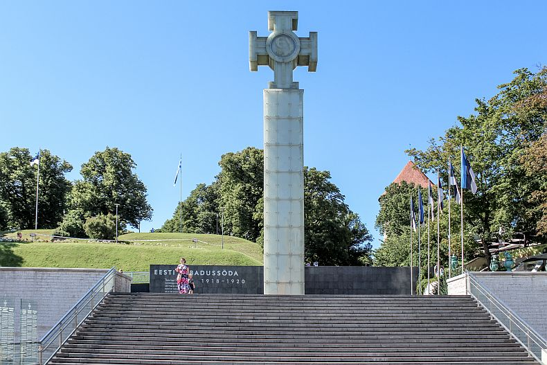 For soldiers and civilians killed in action during the Estonian War of Independence between 1918 to 1920