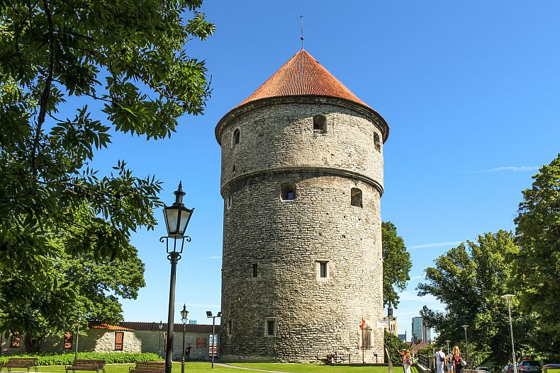 One of the famous Tallinn towers