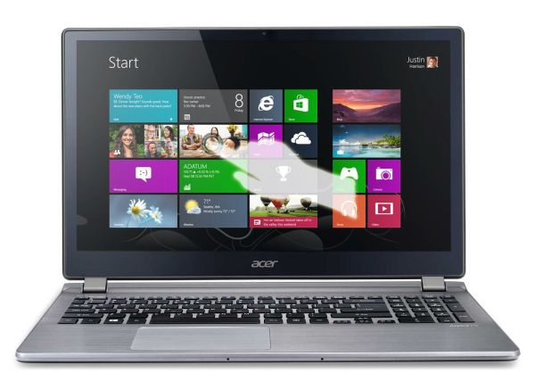 Acer Aspire V7-582PG-6479 15.6-Inch Touchscreen Ultrabook (Cool Steel)
