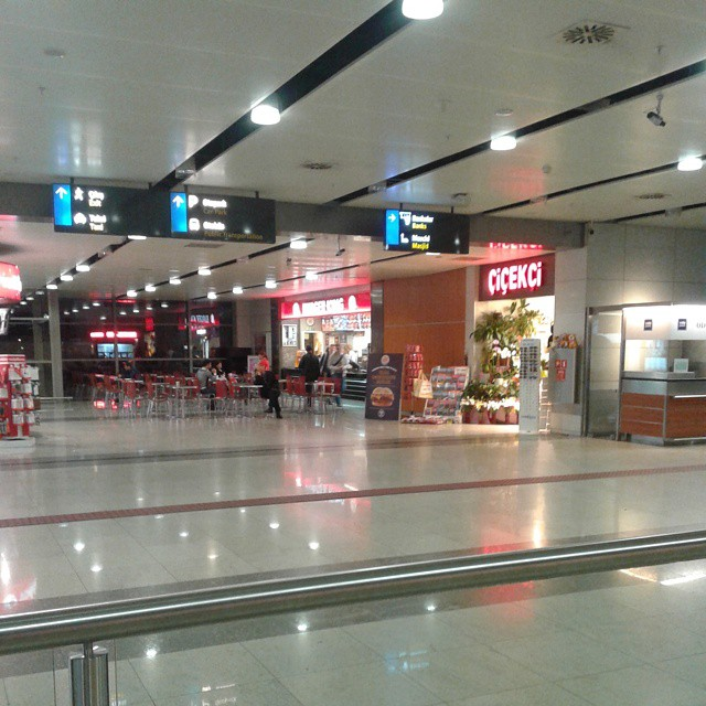 Arrival Hall at Sabiha Gocken airport
