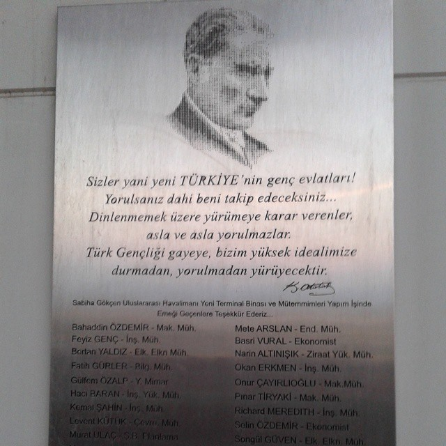 Founding father of Turkey - Attaturk