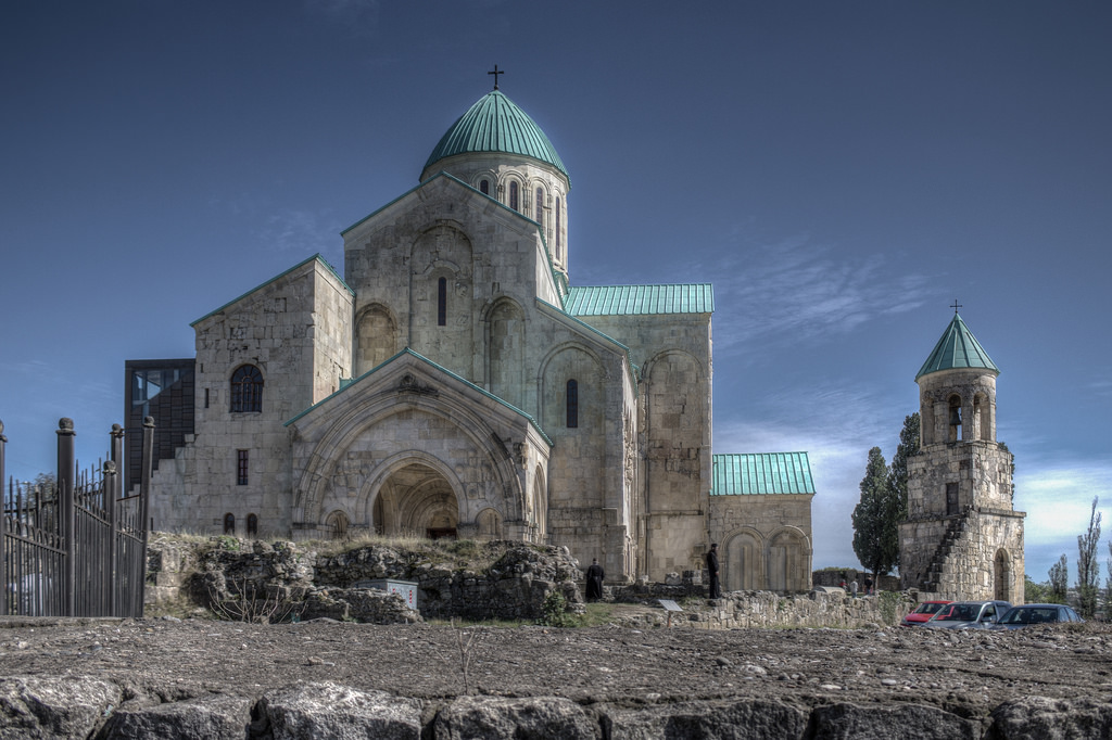 Bagrati Cathedral in HDR