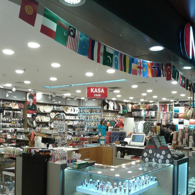 Duty free at Sabiha Gocken airport