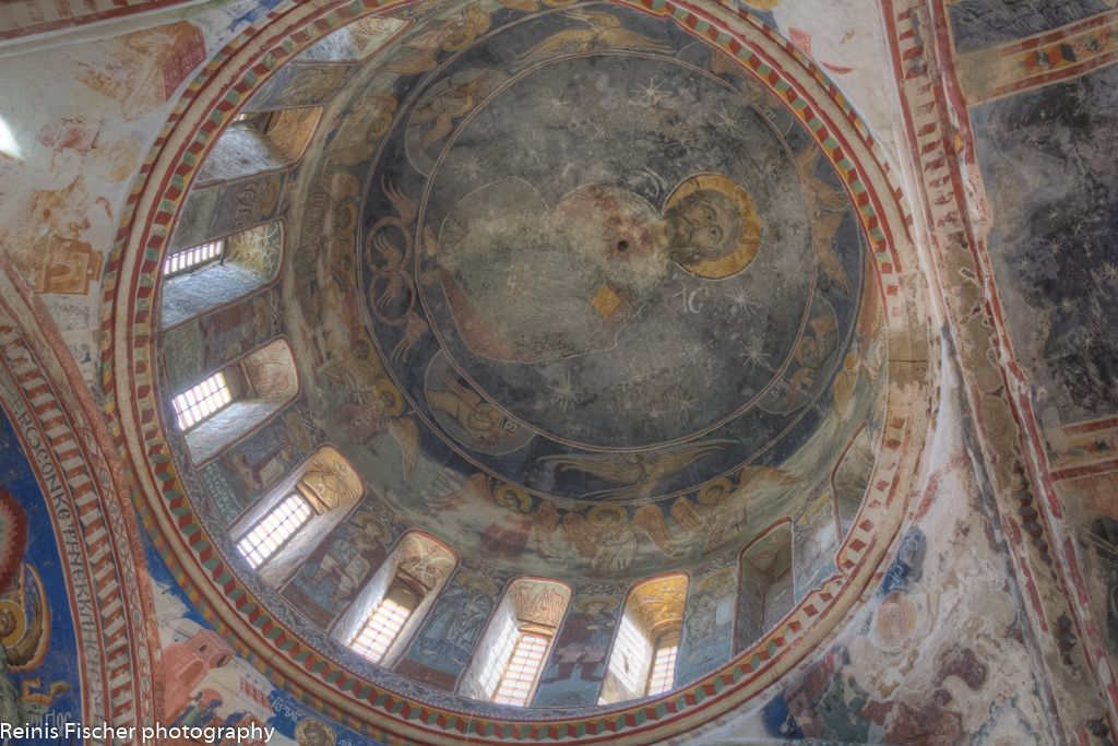 Dome inside Gelati church