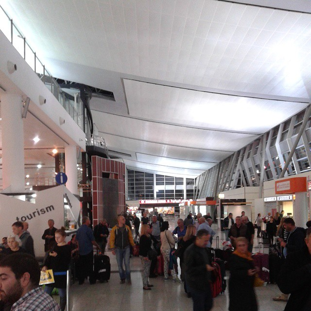 Main hall at Tbilisi airport