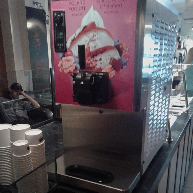 Ice Cream Machine at Luca Polare