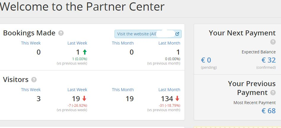 The new Booking.com partner center
