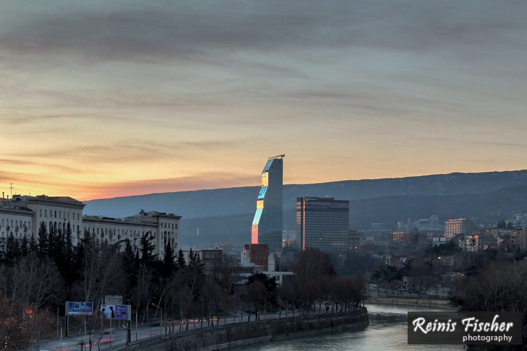 Day 134/365 - Sunrise in Tbilisi