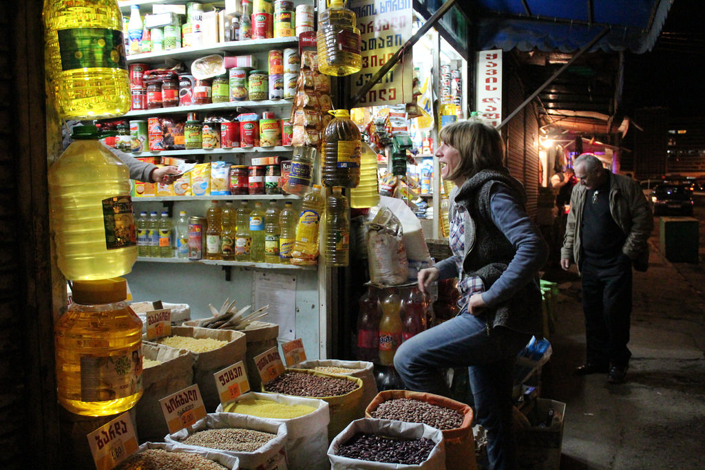 Street Photography at Tbilisi market
