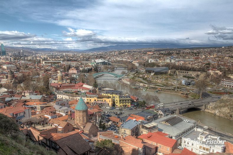 View towards Tbilisi
