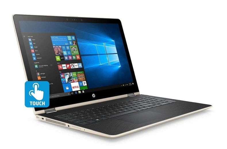 HP Flagship Convertible 2-in-1 15.6 inch Touchscreen FHD IPS Laptop (1920 x 1080), Intel Core i7 8550U (Up to 4GHz), 1TB Hard Drive, 8GB Memory, 2GB Radeon 530 Dedicated, Win 10 Home