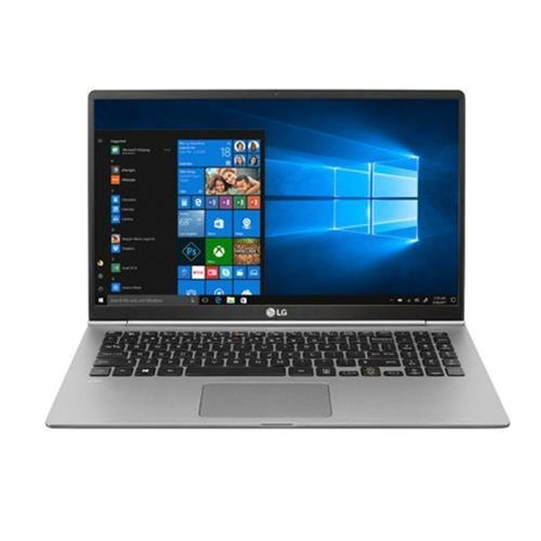 "LG 15.6"" gram Full HD IPS Touchscreen MIL-Spec Notebook Computer, Intel Core i7-8550U 1.80GHz, 16GB RAM, 512GB SSD, Windows 10 Home, Dark Silver"