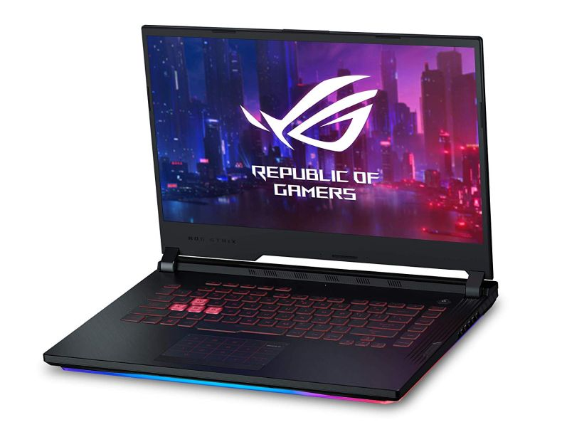 "ASUS ROG Strix G (2019) Gaming Laptop, 15.6"" IPS Type FHD, NVIDIA GeForce GTX 1650, Intel Core i7-9750H, 16GB DDR4, 1TB PCIe Nvme SSD, RGB KB, Windows 10 Home, GL531GT-EB76"