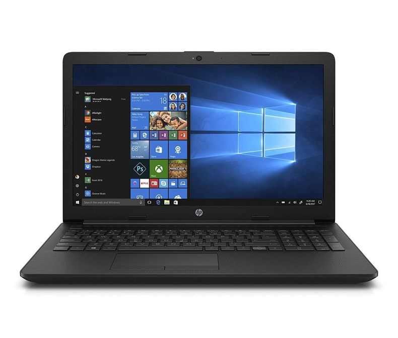 "2019 HP 15.6"" HD Laptop Computer, AMD Quad-Core Ryzen 5 2500U up to 3.6Ghz (Beat i7-7500U), 12GB DDR4 RAM, 128GB SSD + 1TB HDD, DVDRW, 802.11AC WiFi, Bluetooth 4.2, USB 3.1, HDMI, Windows 10 Home"