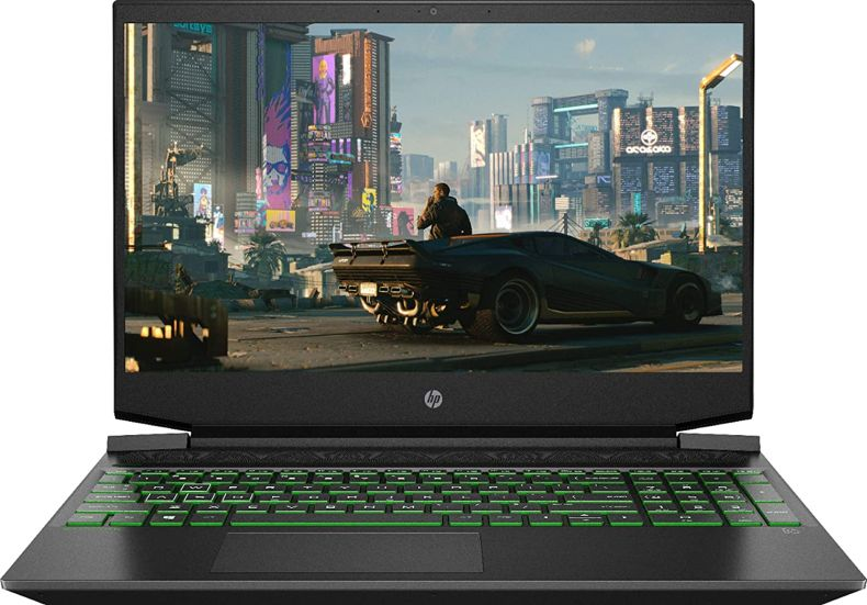 "HP - Pavilion 15.6"" Gaming Laptop - AMD Ryzen 5 - 8GB Memory - NVIDIA GeForce GTX 1650 - 256GB SSD - Shadow Black"