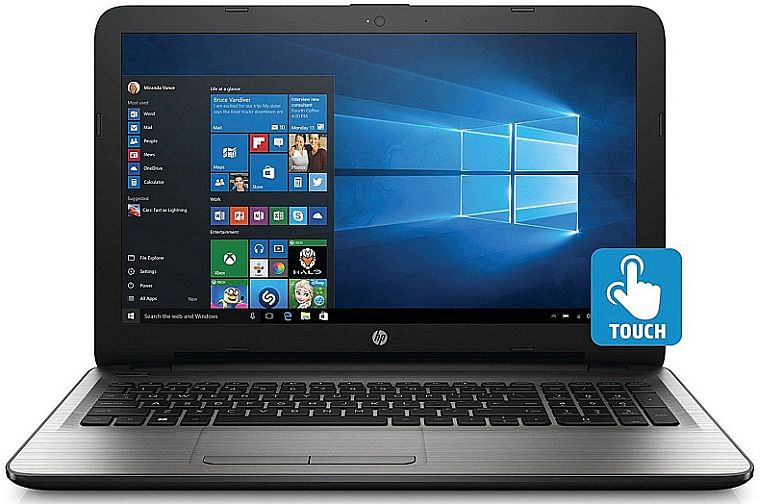 HP 15.6 Inch Touchscreen Laptop Computer (Intel Core i3-6100U 2.3GHZ, 8GB RAM, 1TB Hard Drive, DVD/CD Drive, HD Webcam, Windows 10 Home) (Certified Refurbished)