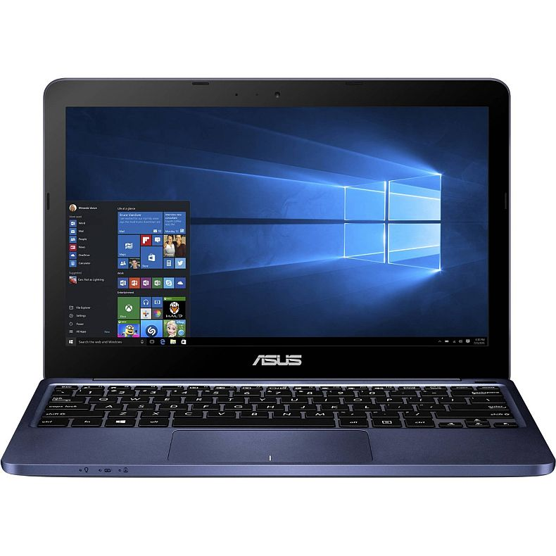 Newest Asus Blue Premium Laptop PC with 11.6-inch HD LED Backlight Display, Intel Atom Z3735F 1.33GHz Processor, 2GB DDR3 Memory, 32GB Hard Drive, Wifi, Bluetooth, and Windows 10