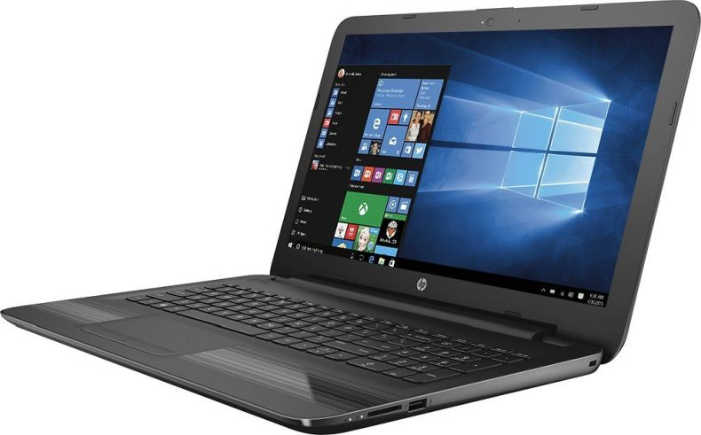 "Premium High Performance HP 15.6"" Laptop PC AMD A6-7310 Quad-Core Processor 4GB RAM 500GB HDD AMD Radeon R4 Graphics DVD-RW HDMI WIFI Bluetooth HDMI Webcam DTS Audio Windows 10-Black"